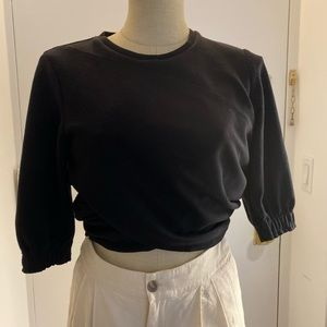 3.1 Phillip Lim cropped puff sleeve top